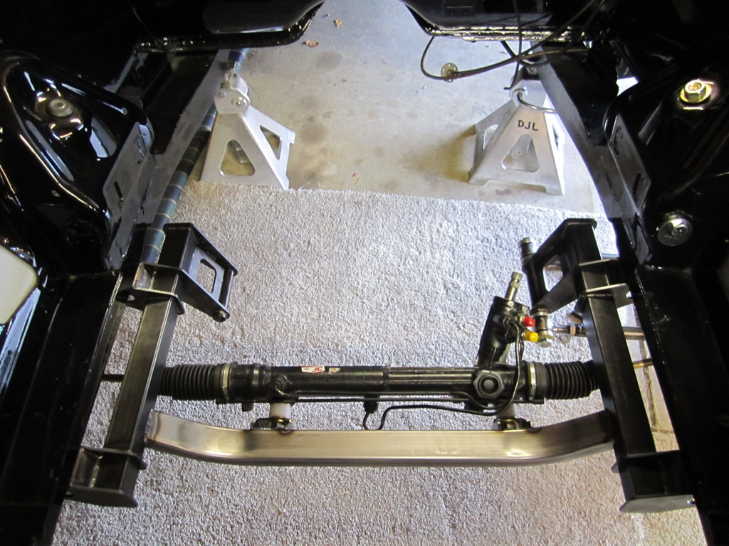 HDK B-body K-frame coil-over conversion with power steering